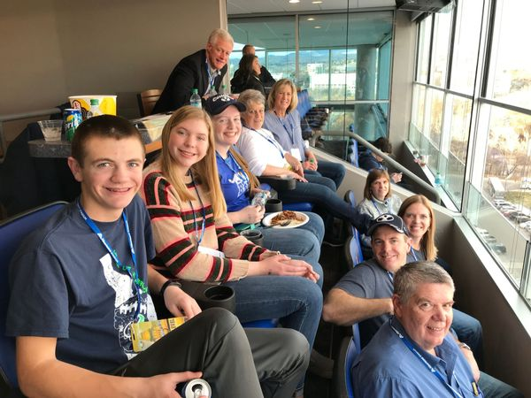Goodbyes and Trip to the Famous Idaho Potato Bowl